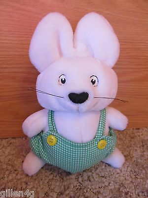 "Max & Ruby 9"" Soft Plush Max Doll Toy Adorable Eden 1997 *mint"