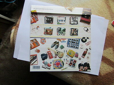 Royal Mail Mint Stamps Booklet The Beatles Albums 10 Stamp Set 6 Album Covers