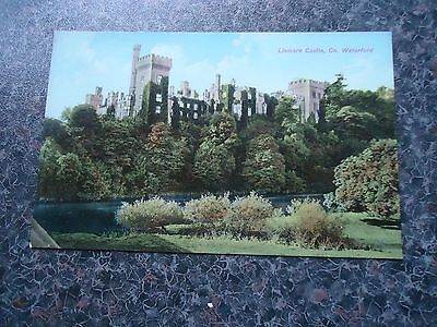 Old Postcard Lismore Castle Co Waterford 1920S/30S ?