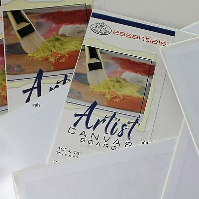 Royal Langnickel artists double primed acrylic blank canvas oil paint boards