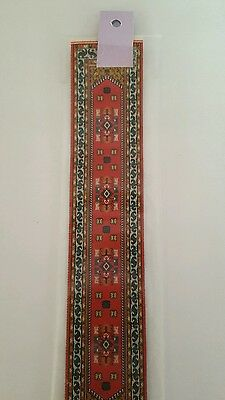 1:12 Scale Dolls House Accessories - Turkish Woven Carpet Runner Pikepike & Co