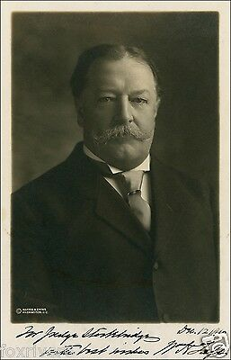 WILLIAM TAFT Signed Photograph - former US President (27th)