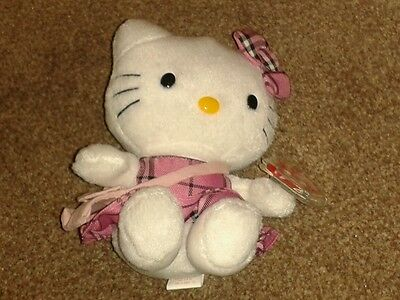Hello Kitty TY pink dress beanie