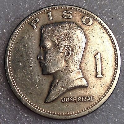 Philippines 1 Piso 1972   Huge  Coin