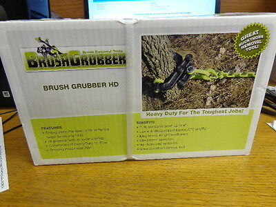 Brush Grubber HD BG-08, Heavy Duty small tree removal system by Brush Grubber