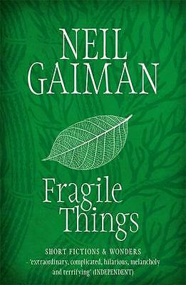 Fragile Things, Neil Gaiman, New