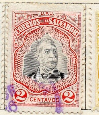 El Salvador 1906 Early Issue Fine Used 2c. 120978