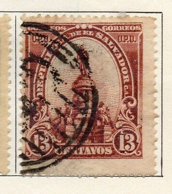 El Salvador 1903 Early Issue Fine Used 13c. 121006
