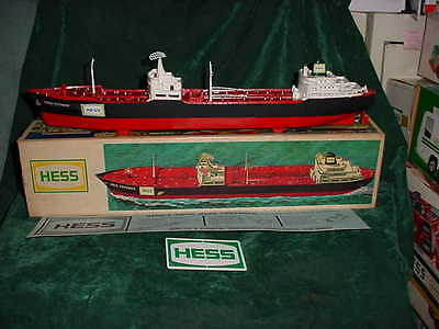 66 Collectable Christmas Xmas Hess Voyager Ship Boat 1966 Tanker Truck Toys