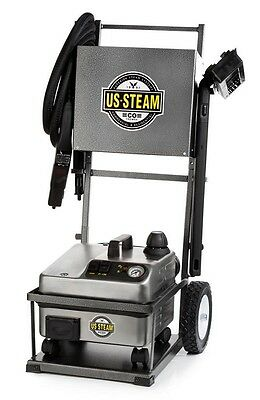 NEW US Steam US600 White Tail Vapor Commercial Steam Cleaner with Cart