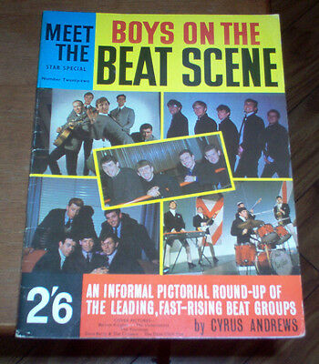 Star Special Boys On The Beat Scene Magazine UK 1964 Rolling Stones Beatles Rare