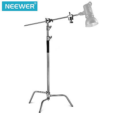 Neewer Pro 100% Metal Max Height 10ft/305cm Adjustable Reflector Stand Kit