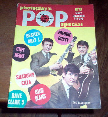 Pop Special Magazine 1964 UK Beatles The Rolling Stones Hollies Manfred Mann