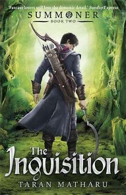 NEW The Inquisition By Taran Matharu Paperback Free Shipping