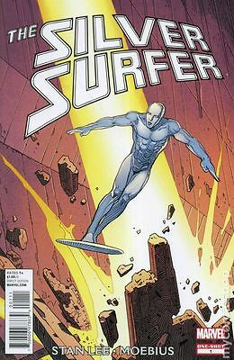 Silver Surfer by Stan Lee and Moebius (2012) #1 FN