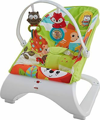 Fisher-Price Woodland Friends Comfort Curve Bouncer -From the Argos Shop on ebay