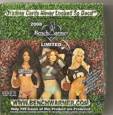 2008 Benchwarmer International Sealed Box 24 Packs 5 Cards Per Pack