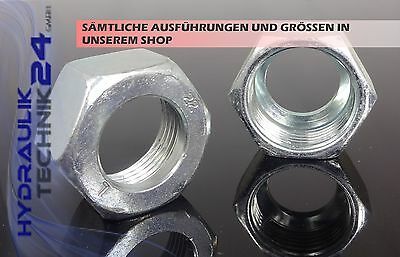 Hydraulic Union nut for Cutting ring couplings mit Season prices