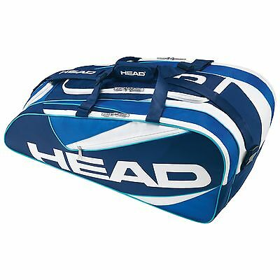 Head Elite All Court 3 Racket Bag For Tennis Squash Badminton