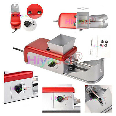 Cigarette Rolling Machine Electric Automatic Tobacco Roller Injector Maker UK 3A