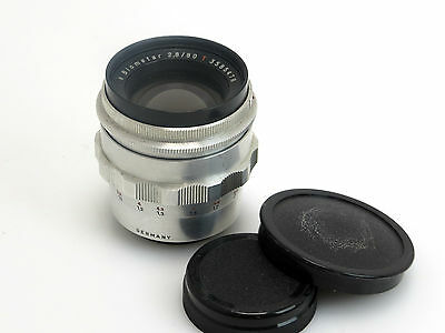 Carl Zeiss Biometar 2,8/80mm T #3585478 M42 mount    sm017