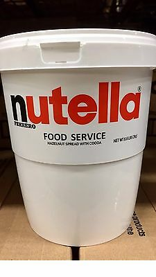 NUTELLA 3 KG XL White Pot Imported From Italy