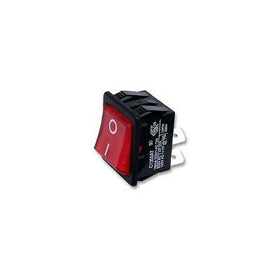 C1353ATNAN Arcolectric Switches Switch , DPDT , 16A , 250Vac , Ill Red , I/O
