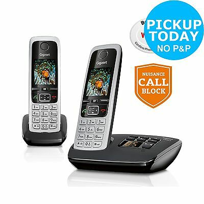 Gigaset C430A Cordless Telephone with Answer Machine -Double From Argos on ebay