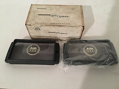 Vintage Audi Fog Light Protective Covers From Light Options. Very Rare