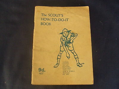 Vintage Scout's How-To-Do-It- Book June 1947  Editor F Haydn Dimmock