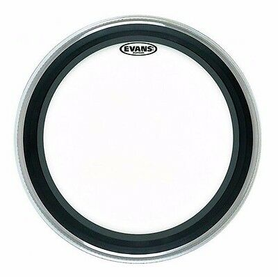 "Evans EMAD2 Clear Bass Drum Head - Various Sizes Available 18"" - 26"""