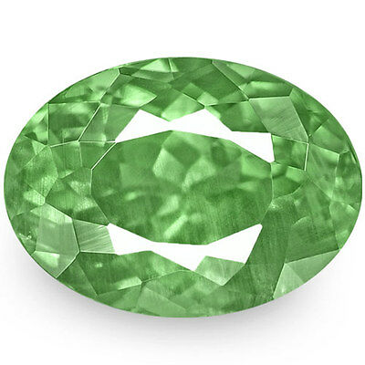 1.64-Carat VS-Clarity Fiery Green Alexandrite from Russia (IGI-Certified)