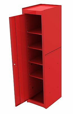 Britool Hallmark Full Length Side Cabinet Cupboard Toolbox 4X Shelves  Red