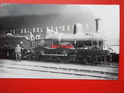 Photo  Ms&lr Class 12A Loco No 363 Manchester Sheffield And Lincolnshire Railway