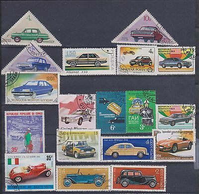 Cars Stamps Lot 2