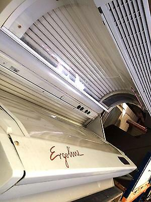 Ergoline 400 Series Super Power Lay down Tanning commercial Sunbed