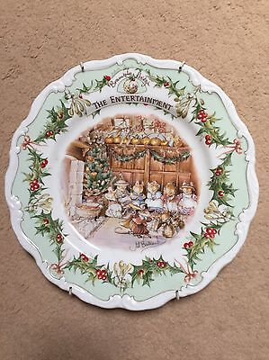 Royal Doulton Brambly Hedge Plate The Entertainment
