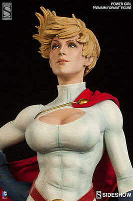 Sideshow Dc Comics Power Girl Premium Format Figure Statue Exclusive ~Brand New~
