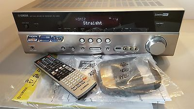 Yamaha RX-V 667 Receiver Natural Sound TITANIUM SILVER AMPLIFIER HOME CINEMA