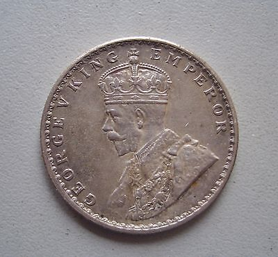 British India, 1912 Rupee,Extremely Fine Condition,30.6 mm Diameter,11.7 Grams
