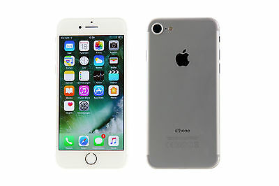 Apple iPhone 7 - 256GB - Silber (Ohne Simlock) - TOP Zustand # AKTION