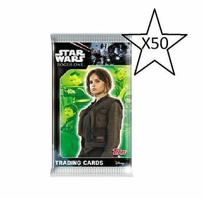 Topps Star Wars Rogue One Trading Card Game Bundle - 50 Packs Supplied NEW