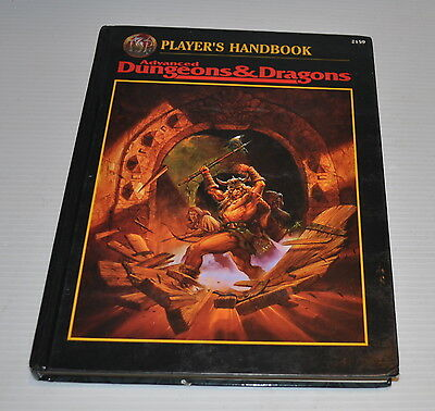Advanced Dungeons & Dragons PLAYER'S HANDBOOK 2159 AD&D TSR