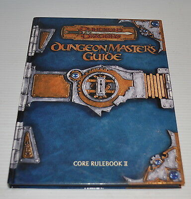 Advanced Dungeons & Dragons DUNGEON MASTER'S GUIDE Core II - 11551 AD&D TSR