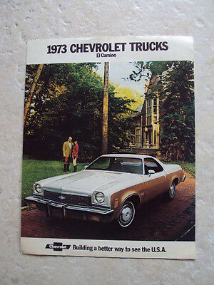 Catalogue CHEVROLET EL CAMINO 1973