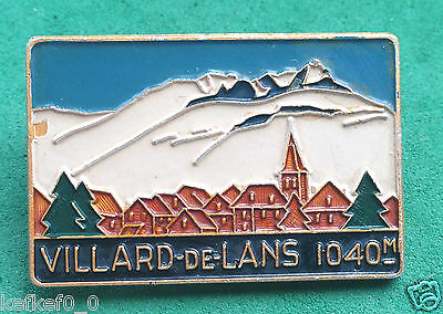 VILLARD DE LANS - VINTAGE SKI RESORT PIN BADGE - skiing insigne