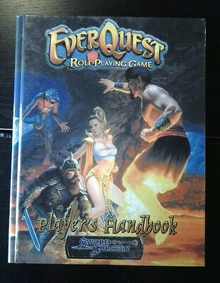 Core Book - Everquest Role-Playing Game Rpg Oop Ww Dnd D&d 3Rd