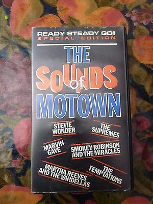 The Sounds Of Motown Original Issue Video Northern Soul Mod