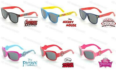 Girls Boys Disney Marvel Character Sunglasses Uv Protection Kids Summer Holiday