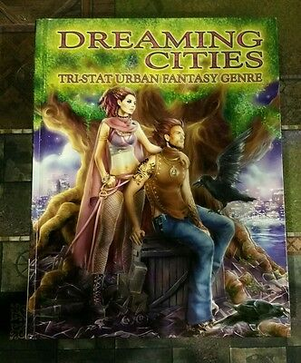 Dreaming Cities - Tri-Stat Urban Fantasy Guardians Of Order Rpg Oop Roleplaying
